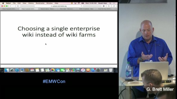 Videos (links to) – my talks at EMWCon 2016